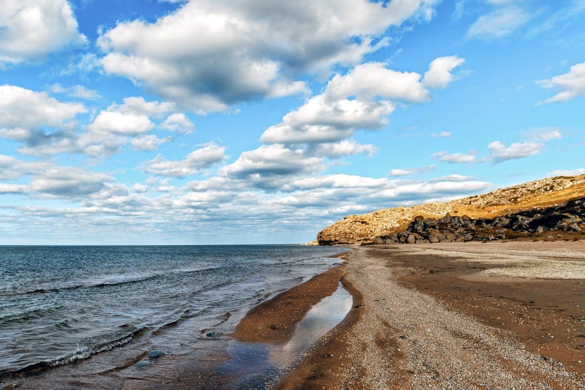 Ракушечные пляжи Азова